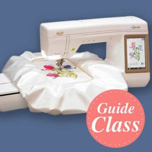 Beyond Embroidery Basics - Class 2 - Instructional Guide Class (C-EMB2)