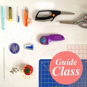 Sewing & Embroidery Essentials Instructional Guide Class (C-SEE)