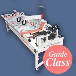 Learn to Use Your Quilt Frame Instructional Guide Class - C-LAQF