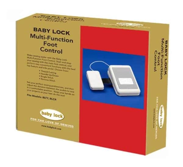 Baby Lock Multi-Function Foot Control