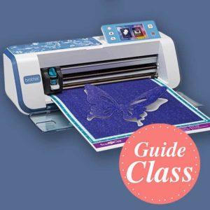 Learn to Use Your Brother Scan N Cut Instructional Guide Class (C-SNC)